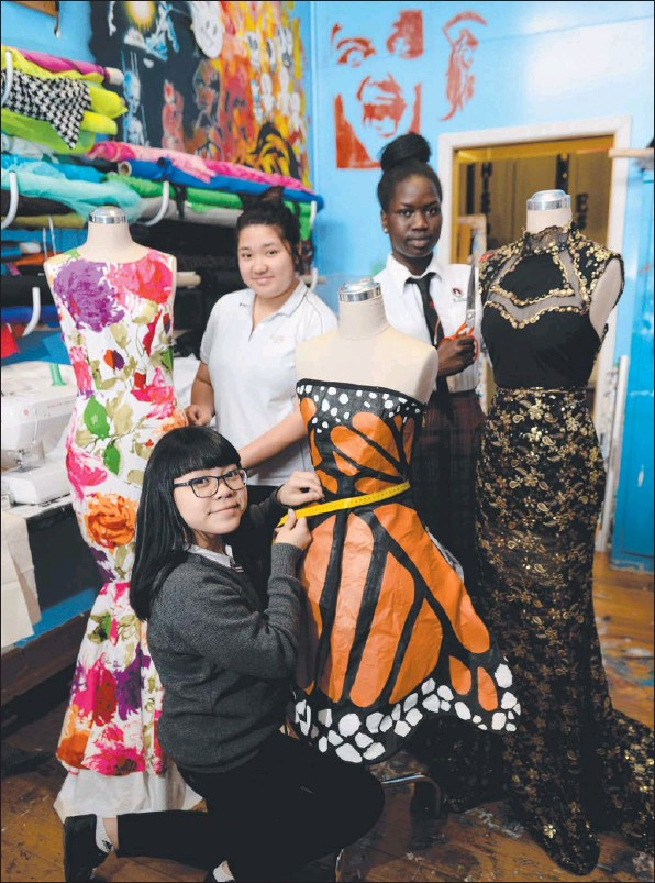 My Nguyen, Diana Le and Adhieu Kuir did well at the Fashion Awards Australia.