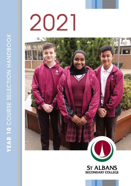 Year 10 Course Selection Handbook 2021
