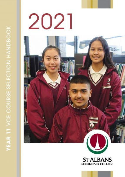 Year 11 Course Selection Handbook 2021