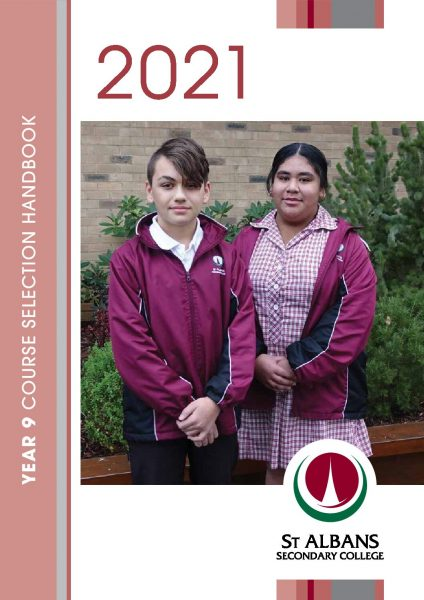 Year 9 Course Selection Handbook 2021